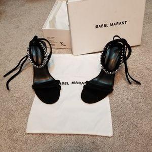 ISABEL MARANT Alrin crystal-embellished sandals